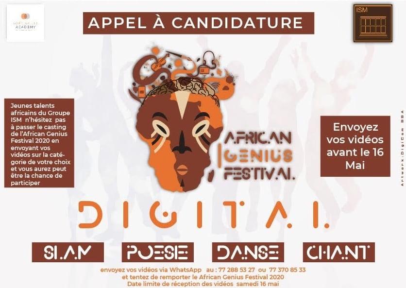 African Online Genius Festival du Groupe ISM