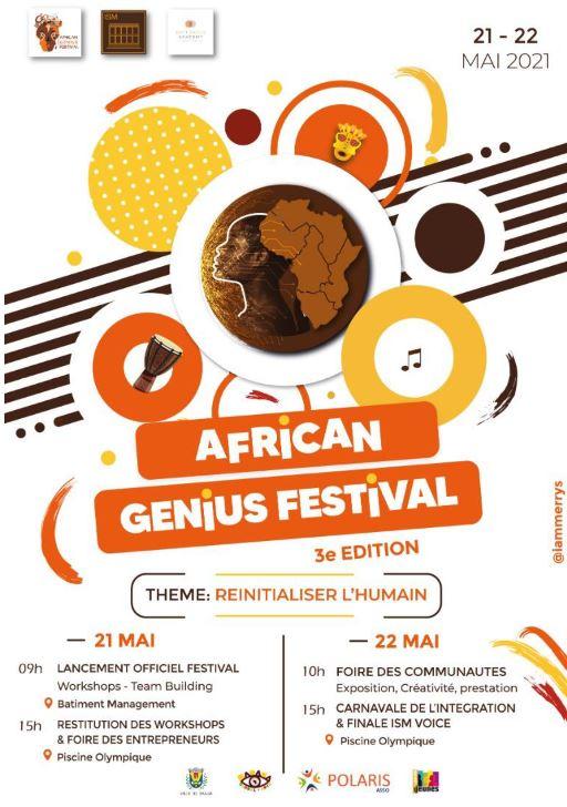 African Genius Festival « Réinitialiser l'Humain »