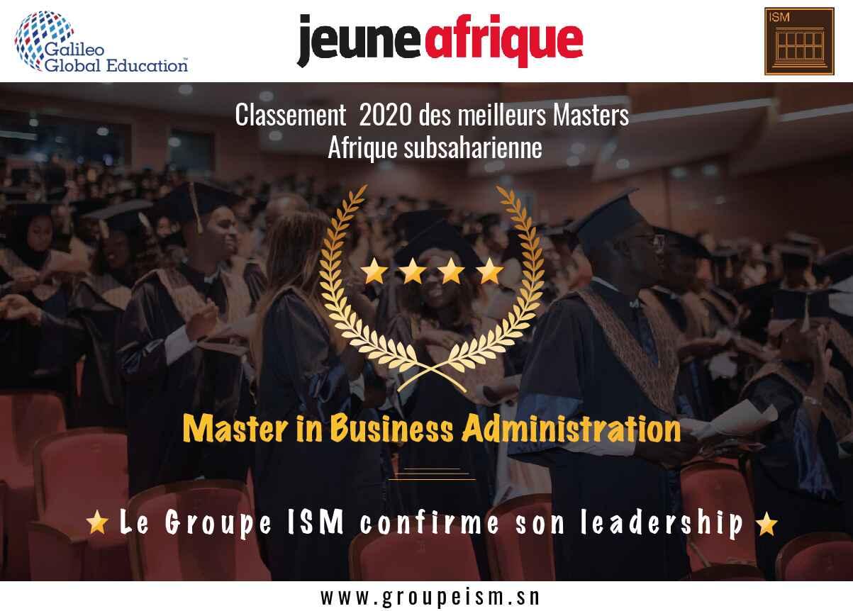 Groupe ISM - JA 2020