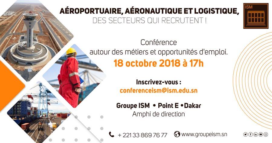 Conférence aéroportuaire, aéronautique et logistique