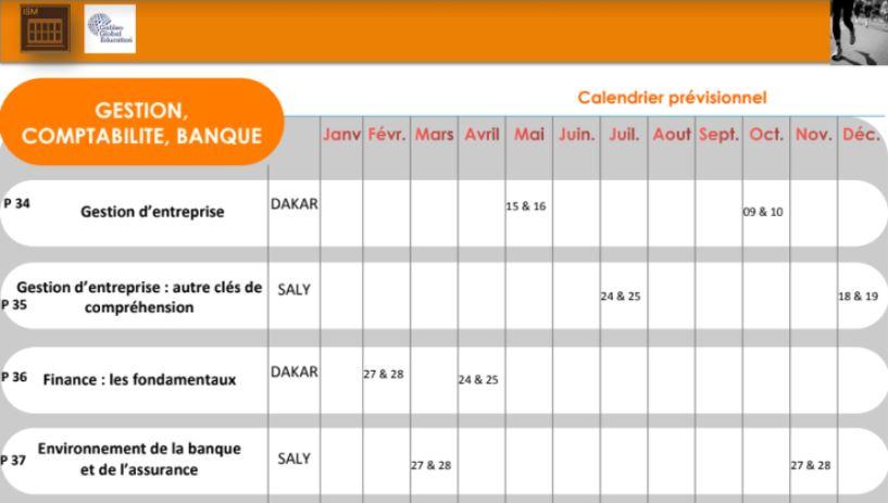 ISM Dakar Exec - Agenda