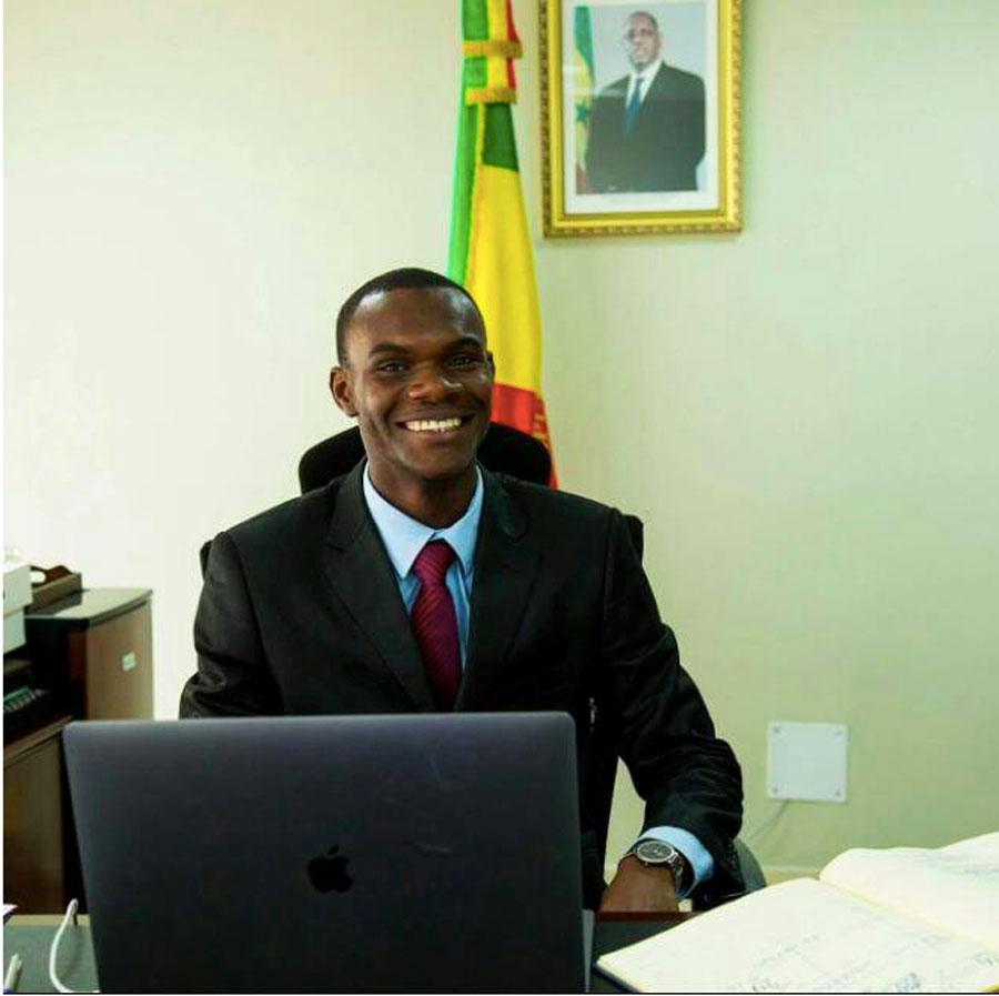 Birane Salane, coordonnateur des incubateurs du Groupe ISM
