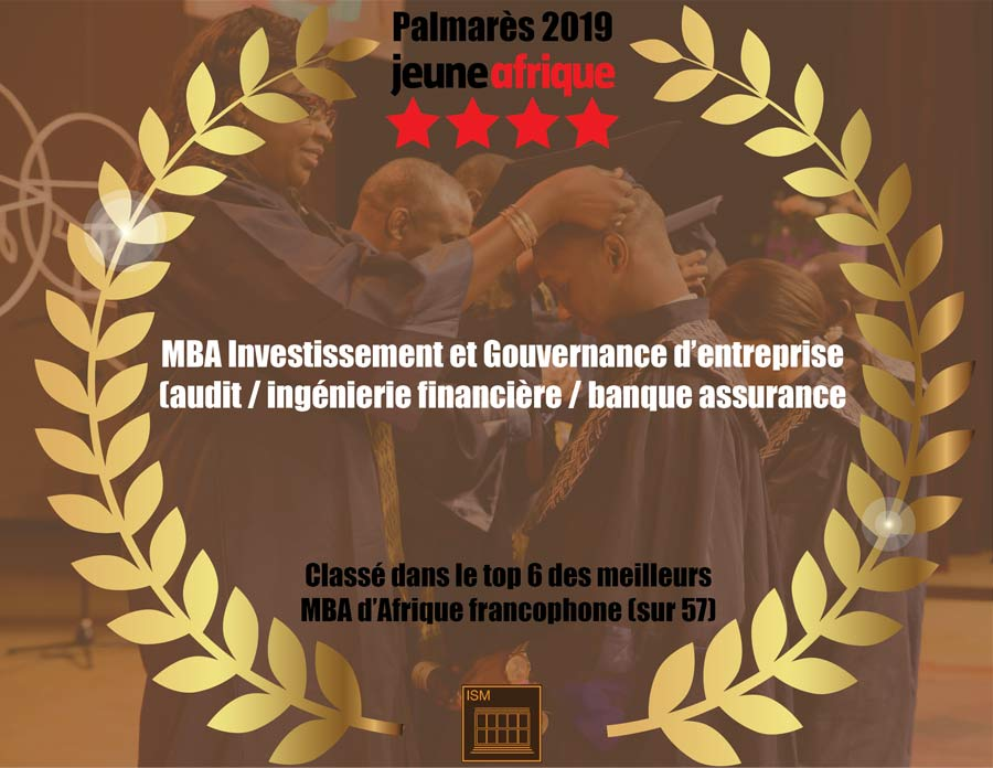 Le parcours Ingénierie et Gouvernance d'entreprise couronné par Jeune Afrique