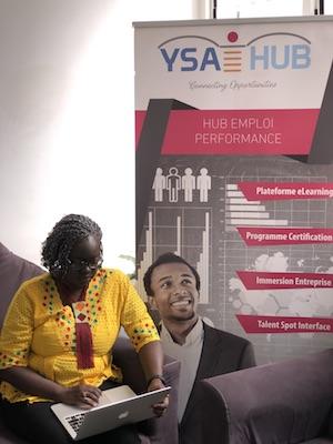 Gnagna konaté co-fondatrice et directrice de YSA HUB à l'ISM