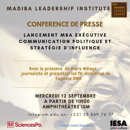 MBA Executive en communication politique et stratégie d'influence