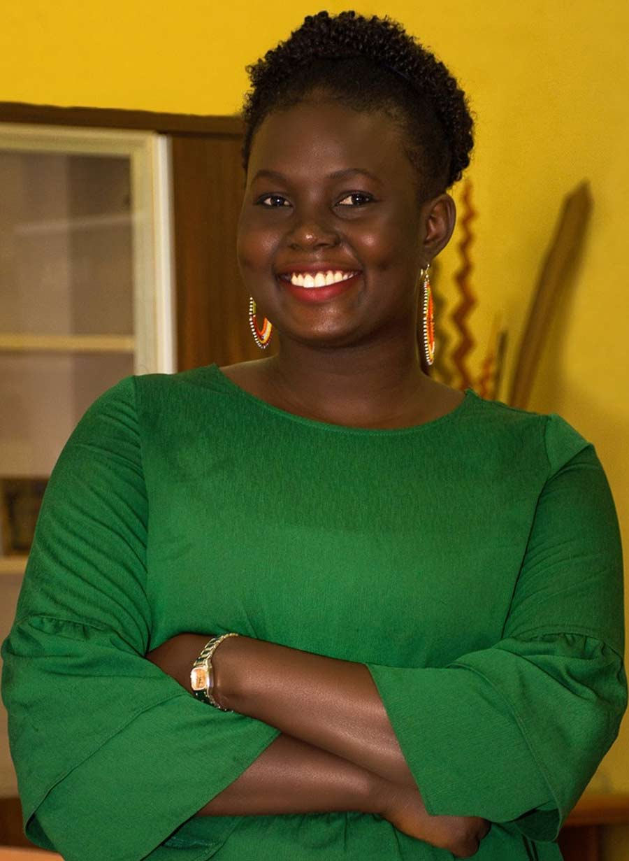 Portrait de Marieme Sarr, Human resources officer à AIMS Sénégal