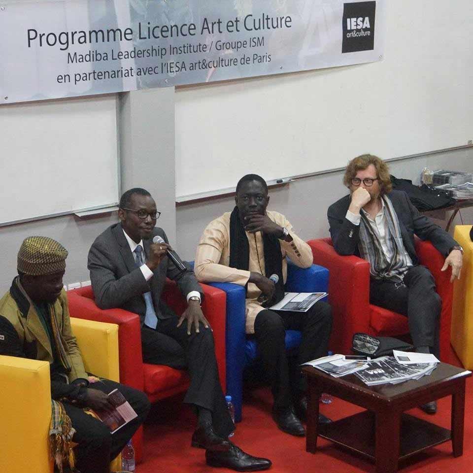 Le Madiba Leadership Institute - Groupe ISM et l'IESA arts&culture présentent les quatre formations de leur nouvelle filière