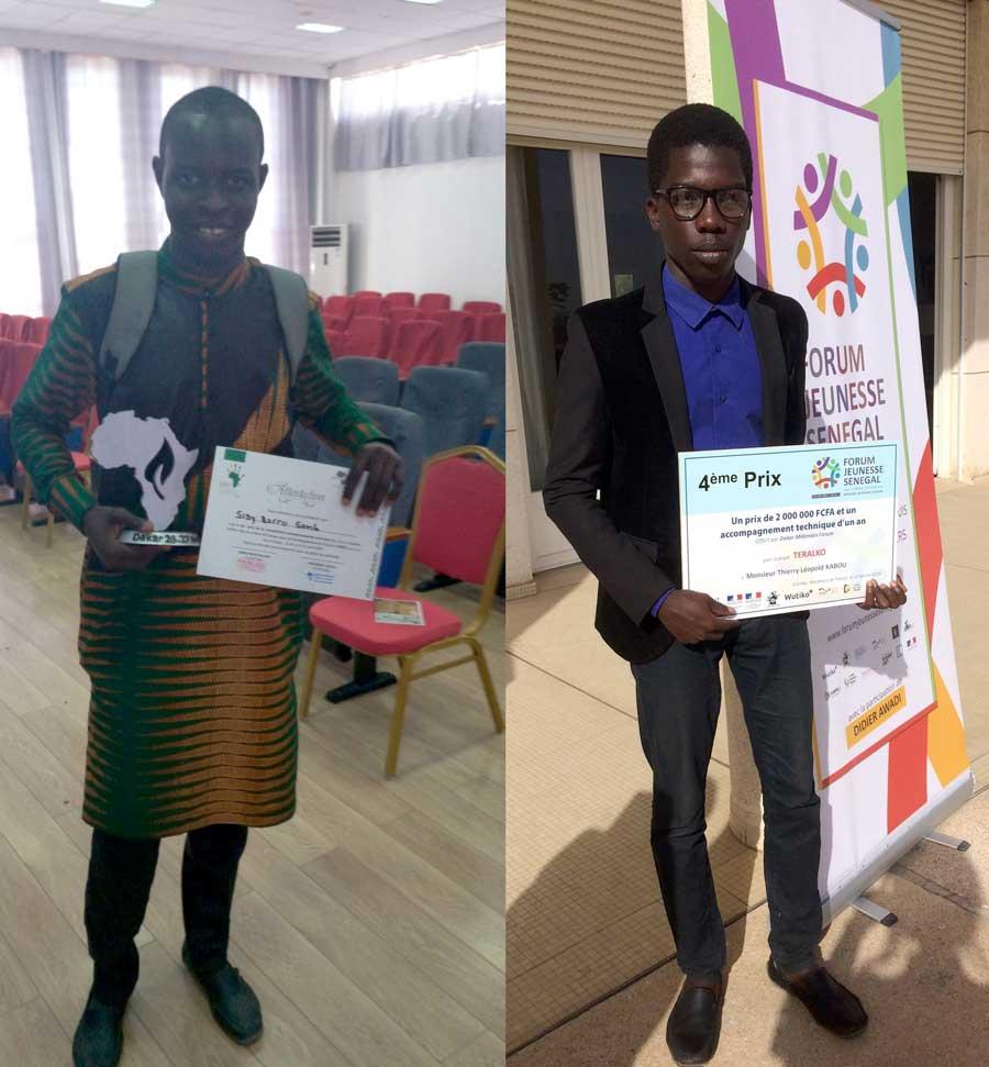 Les start-ups incubées récompensées !