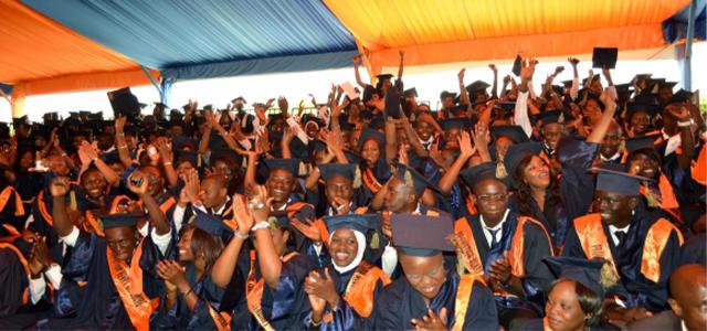 Photo d'élèves diplômés