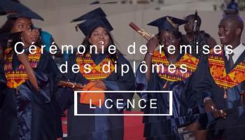 Remise des diplômes ISM 2019