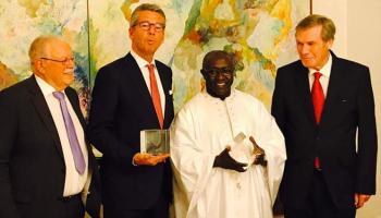 Le Sénégal distingué en Allemagne : le Prix Walter Scheel remis à Amadou DIAW