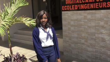 Cathy Diouf, challengeuse et entrepreneuse étudie à l'ISM
