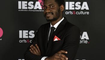 Cheikh Mbacké Touré, représentant de Madiba Leadership Institute à IESA Paris.