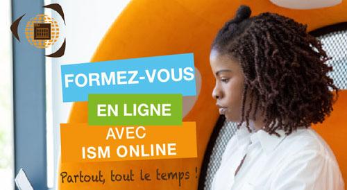 Groupe ISM - ISM Online - Cours en ligne